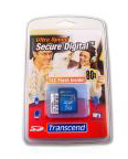 КАРТА ПАМЯТИ SECURE DIGITAL CARD 1GB Transcend 80Х